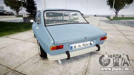 Dacia 1300 v2.0 für GTA 4 hinten links Ansicht