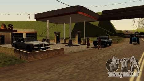 Recovery-Stationen San Fierro Land für GTA San Andreas