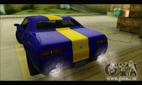 Bravado Gauntlet (GTA V) pour GTA San Andreas vue de droite