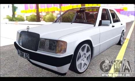 Mercedes Bad-Benz 190E (34 DDK 82) für GTA San Andreas