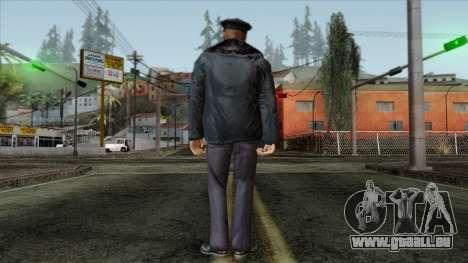 Police Skin 11 pour GTA San Andreas deuxième écran