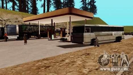 Recovery-Stationen San Fierro Land für GTA San Andreas zehnten Screenshot