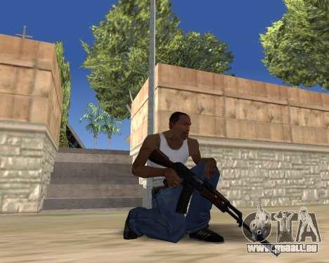 HD Weapon Pack pour GTA San Andreas huitième écran