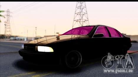 Chevrolet Impala 1995 pour GTA San Andreas