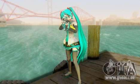 Hatsune Miku Dreamy Theater pour GTA San Andreas quatrième écran