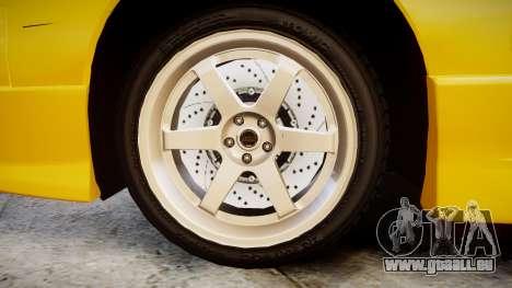 Nissan Onevia S14 pour GTA 4 Vue arrière