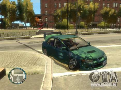 Big Car Damage für GTA 4 dritte Screenshot