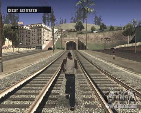 Colormod High Black pour GTA San Andreas deuxième écran