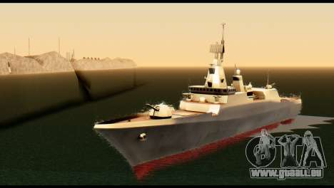 Admiral Sergey Gorshkov pour GTA San Andreas