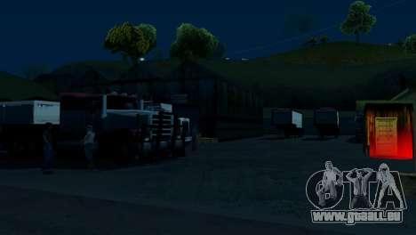 Recovery-Stationen San Fierro Land für GTA San Andreas zweiten Screenshot