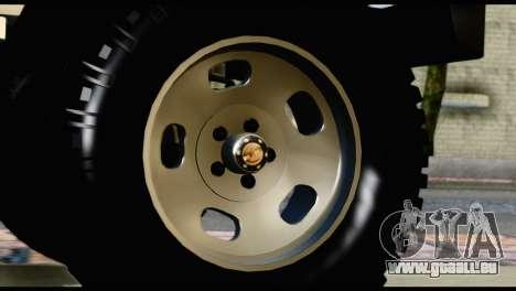 Toyota Land Cruiser Macho Pick-Up 2007 4.500 für GTA San Andreas rechten Ansicht
