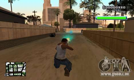C-HUD Compact pour GTA San Andreas