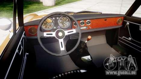 Alfa Romeo Spider 1966 pour GTA 4 Vue arrière
