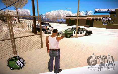 HUD GOSKA pour GTA San Andreas troisième écran