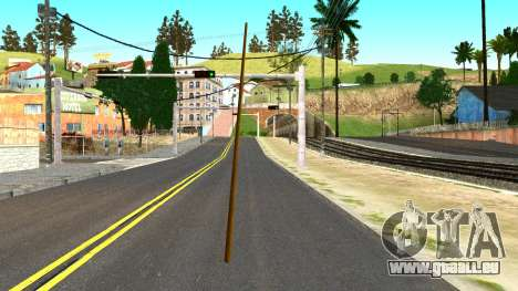 Poolcue from GTA 4 pour GTA San Andreas