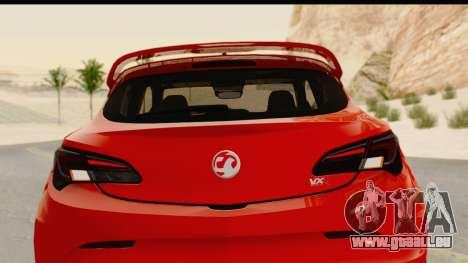 Vauxhall Astra VXR für GTA San Andreas Seitenansicht