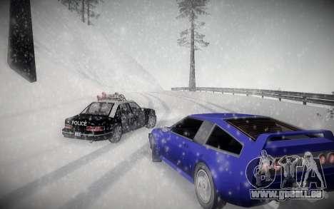 L'Hiver ENBSeries pour GTA San Andreas troisième écran