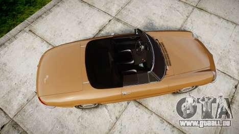 Alfa Romeo Spider 1966 pour GTA 4 est un droit