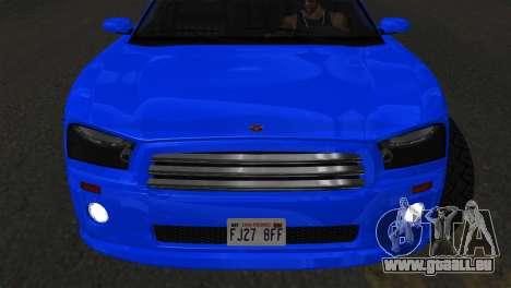 Bravado Buffalo Sedan v1.0 (IVF) pour GTA San Andreas vue de droite