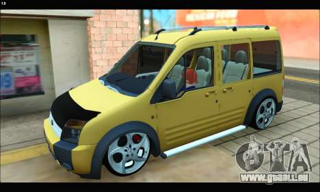 Ford Transit Connect für GTA San Andreas linke Ansicht
