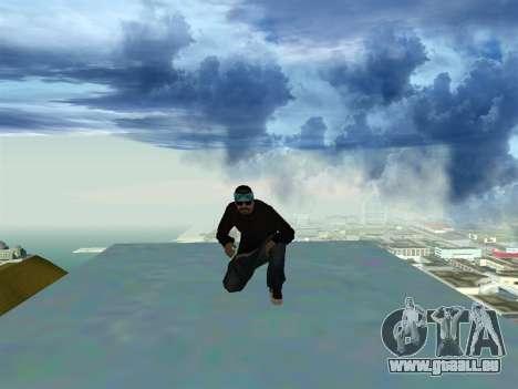 SFR2 New Skin pour GTA San Andreas troisième écran