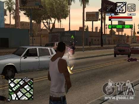 Nice C-HUD für GTA San Andreas zweiten Screenshot