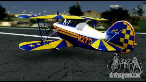 Alabeo PITTS S2S Blue für GTA San Andreas rechten Ansicht