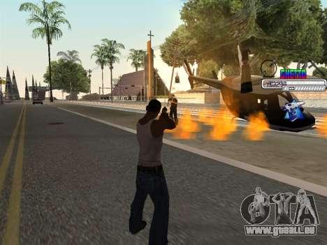 C-HUD Ghetto für GTA San Andreas her Screenshot