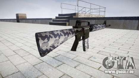 Le M16A2 fusil de sibérie pour GTA 4 secondes d'écran