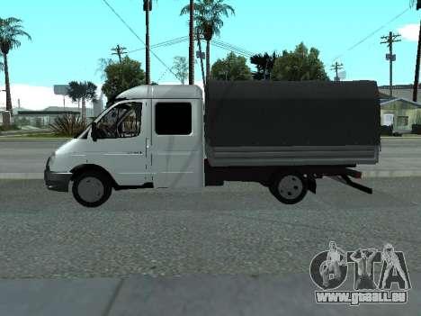 GAZelle 33023 Farmer pour GTA San Andreas sur la vue arrière gauche