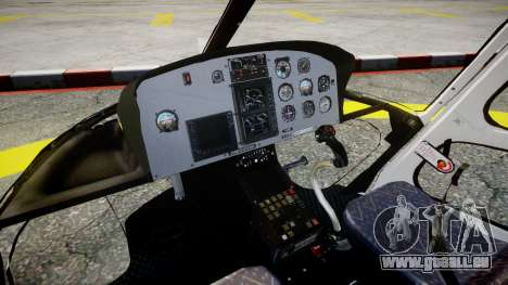 Eurocopter AS350 Ecureuil Aguia 11 PMESP pour GTA 4 est un droit