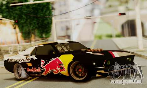 Ford Mustang RTR RedBull pour GTA San Andreas
