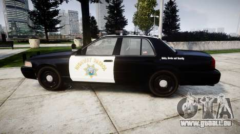 Ford Crown Victoria Highway Patrol [ELS] Liberty für GTA 4 linke Ansicht