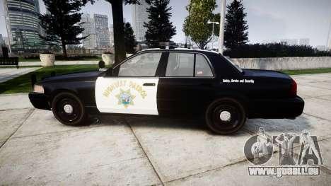 Ford Crown Victoria Highway Patrol [ELS] Liberty für GTA 4 linke Ansicht