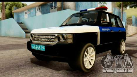 Land Rover ДПС pour GTA San Andreas