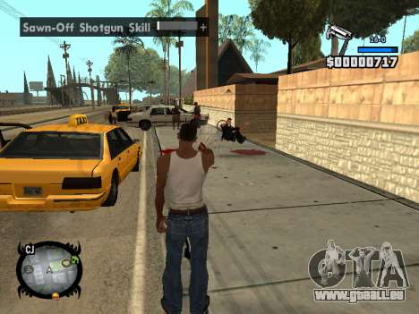HUD by LMOKO für GTA San Andreas her Screenshot