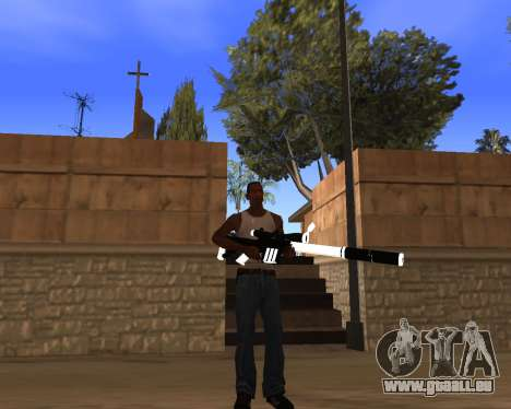 White Chrome Gun Pack für GTA San Andreas zehnten Screenshot