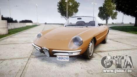 Alfa Romeo Spider 1966 pour GTA 4