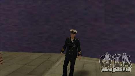 Le Corps des marines des forces armées pour GTA San Andreas deuxième écran