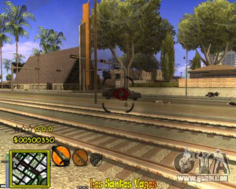 C-HUD Vagos Gang pour GTA San Andreas quatrième écran