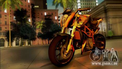 KTM Duke 125 pour GTA San Andreas