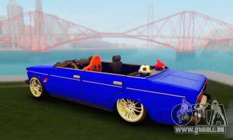 VAZ 2106 Convertible für GTA San Andreas linke Ansicht