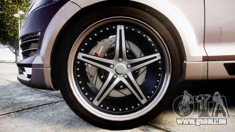 Audi Q7 2009 ABT Sportsline [Update] rims2 pour GTA 4 Vue arrière