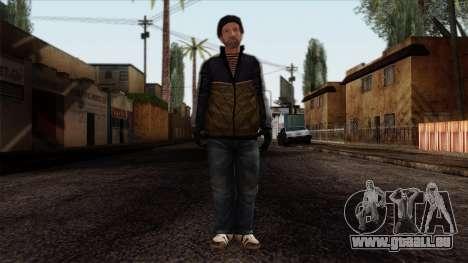 GTA 4 Skin 25 pour GTA San Andreas
