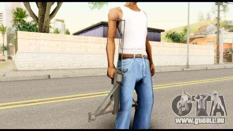 Fear Crossbow from Metal Gear Solid pour GTA San Andreas troisième écran