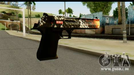 Kill Em All Desert Eagle für GTA San Andreas zweiten Screenshot