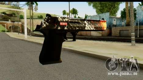 Kill Em All Desert Eagle für GTA San Andreas zweiten Screenshot