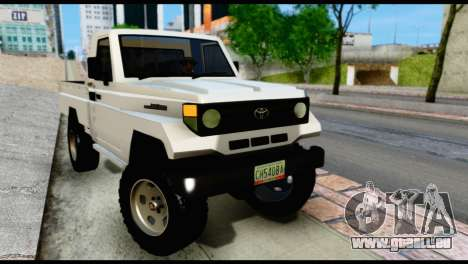 Toyota Land Cruiser Macho Pick-Up 2007 4.500 für GTA San Andreas