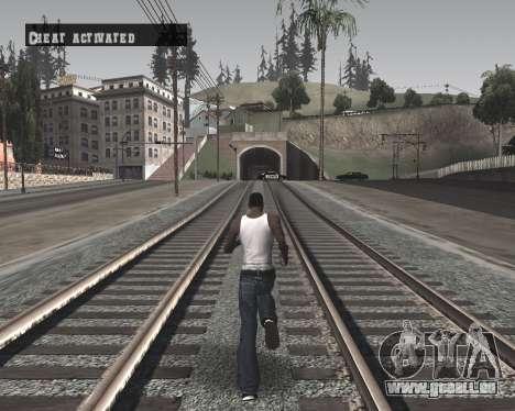 Colormod High Black pour GTA San Andreas troisième écran