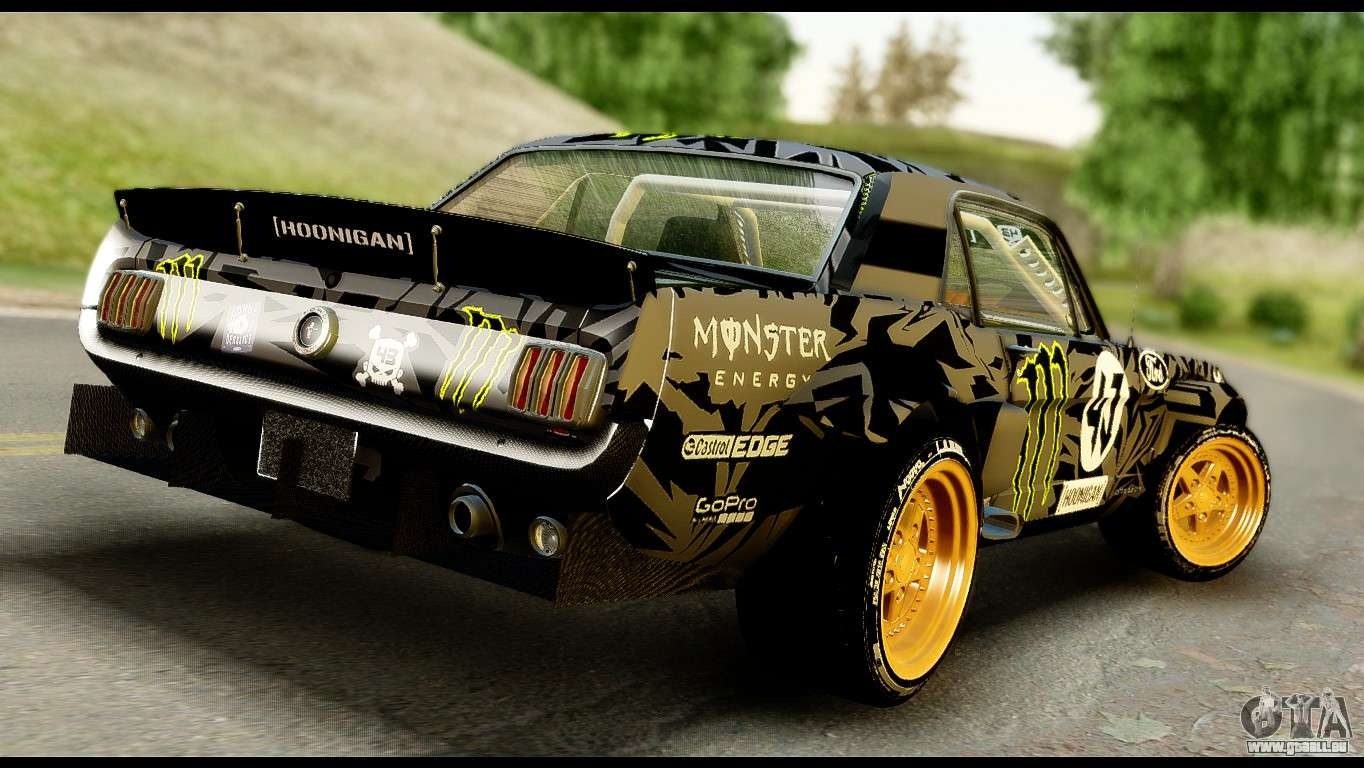 ford mustang 1965 ken block pour gta san andreas. Black Bedroom Furniture Sets. Home Design Ideas